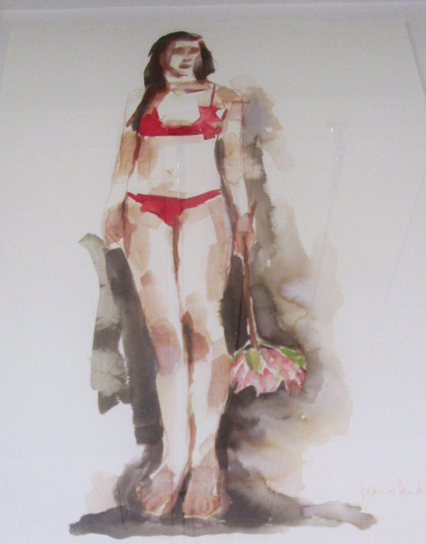JEANNE HENDRIKS - INK SKETCH SMALL 2 - 60 X 41 CM