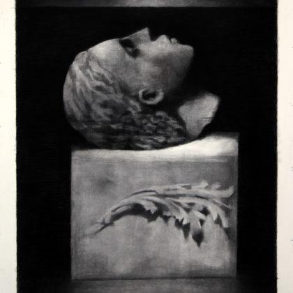 ANDREW BARLOW - PAST LIVES - 110 X 90 CM