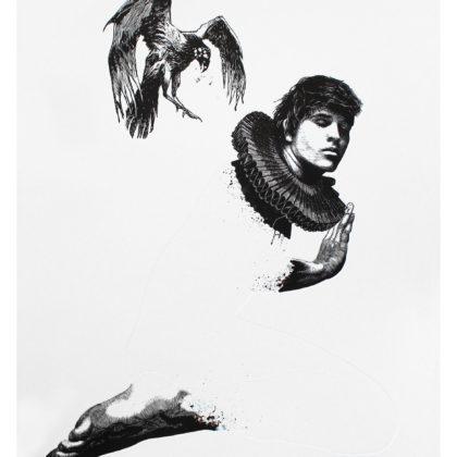 CHRISTIAAN DIEDERICKS - Absolution (with apology to Rubendarion) - 110 X 85 cm