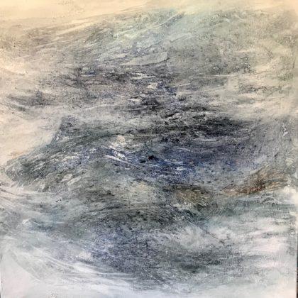 LYNETTE TEN KROODEN - SEA SPIRIT II - 81 X 81 CM
