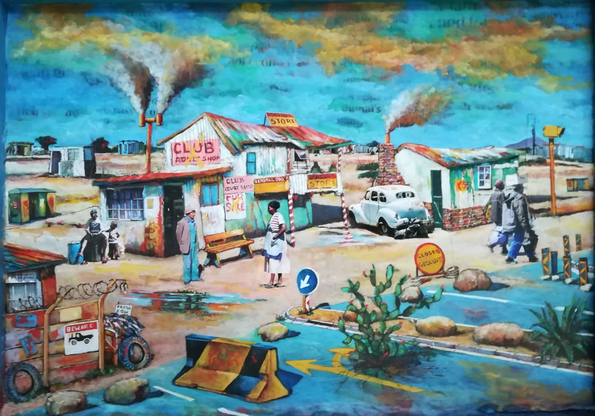 WILLIE BESTER - ADULT WORLD - 61 X 86 CM